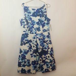 💥Donna Morgan Floral Midi Dress